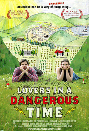Lovers in a Dangerous Time Large Poster