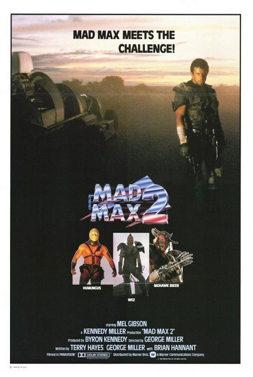 Mad Max 2: The Road Warrior Large Poster