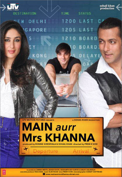 Main Aurr Mrs. Khanna Large Poster