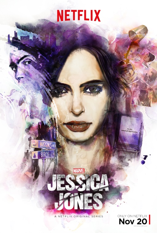 Marvel's Jessica Jones (Netflix) Large Poster