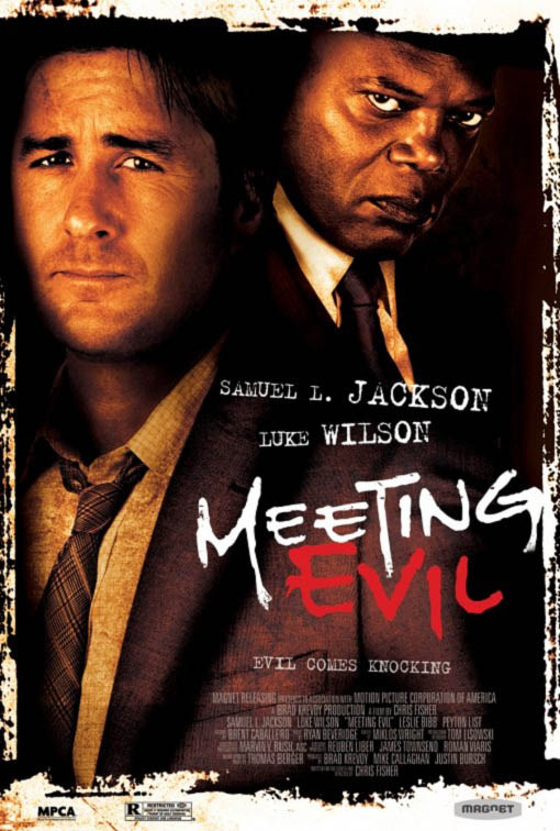 Meeting Evil Large Poster