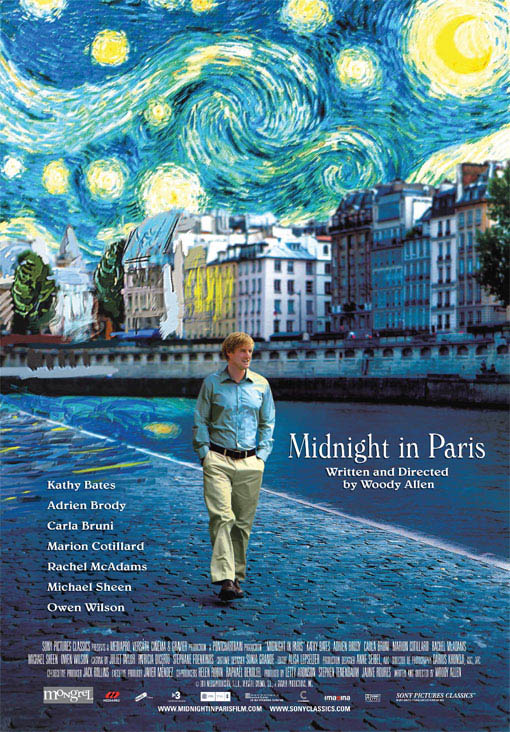 Midnight in Paris Large Poster