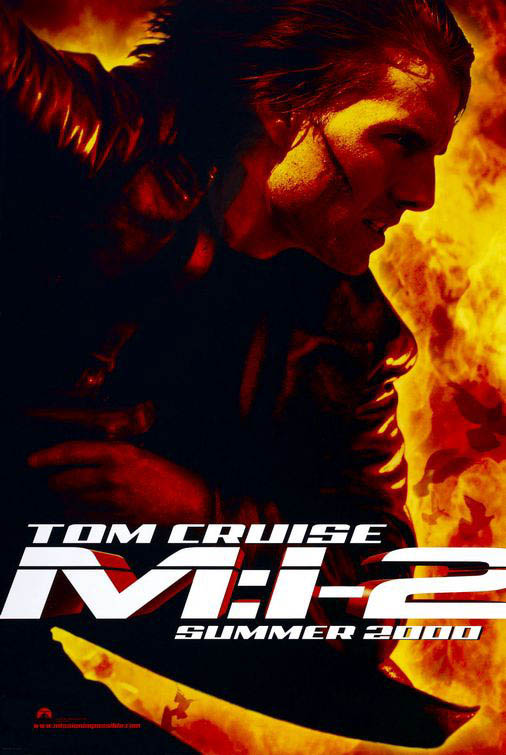 Mission: Impossible II Large Poster