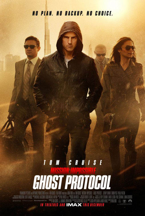 Mission: Impossible - Ghost Protocol Large Poster