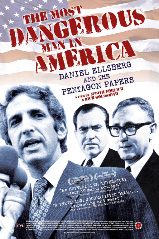 The Most Dangerous Man in America: Daniel Ellsberg and the Pentagon Papers Large Poster