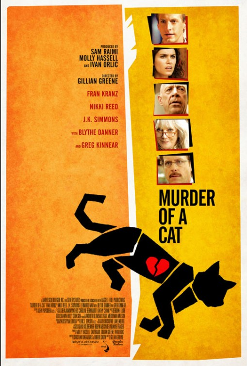 Murder of a Cat Large Poster