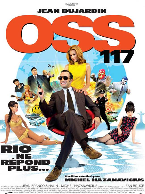 OSS 117: Lost in Rio Large Poster