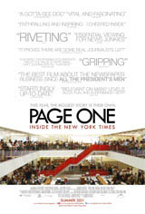 Page One: Inside the New York Times  Movie Poster