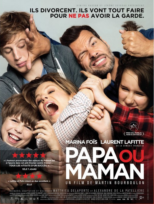 Daddy or Mommy Large Poster