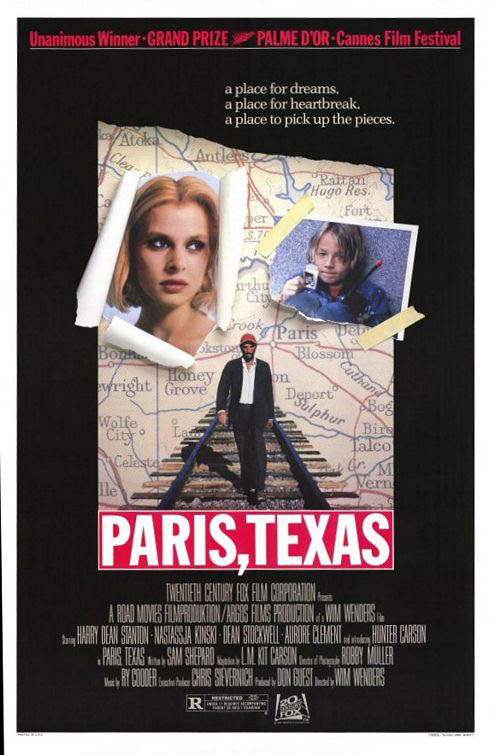 Paris, Texas Large Poster