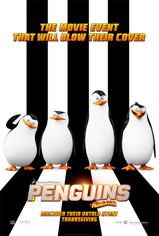 Penguins of Madagascar Large Poster