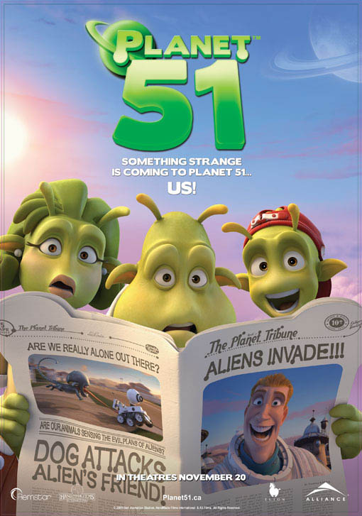 Planet 51 Large Poster