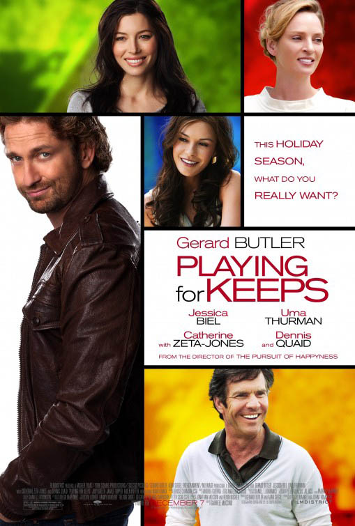 Playing for Keeps Large Poster