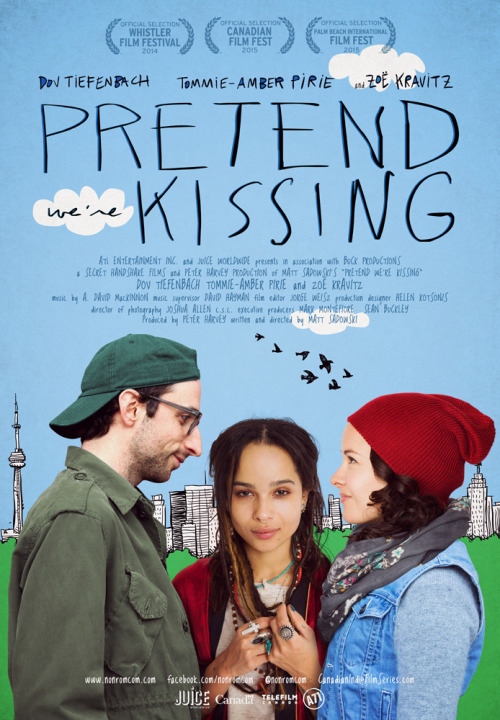 Pretend We're Kissing Large Poster