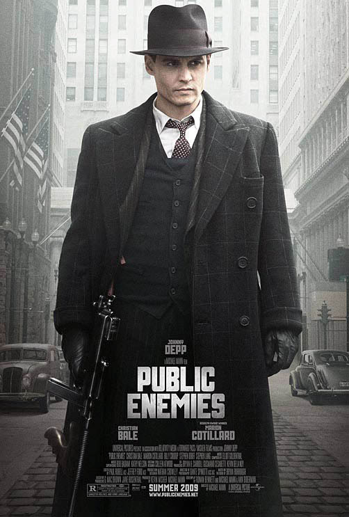 Public Enemies Large Poster