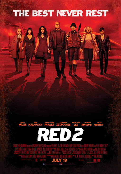 RED 2 Large Poster