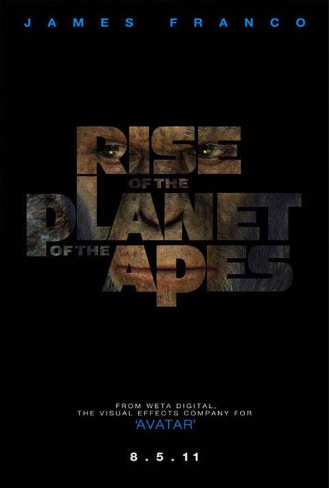 Rise of the Planet of the Apes Large Poster