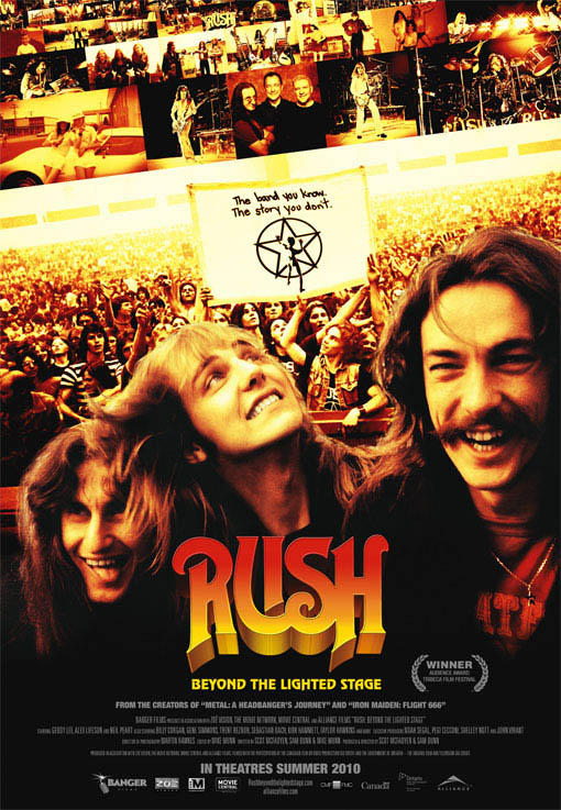 Rush: Beyond the Lighted Stage Large Poster