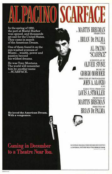 Scarface Large Poster