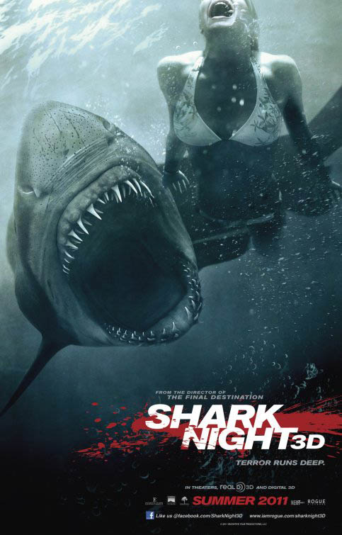 Shark Night Large Poster