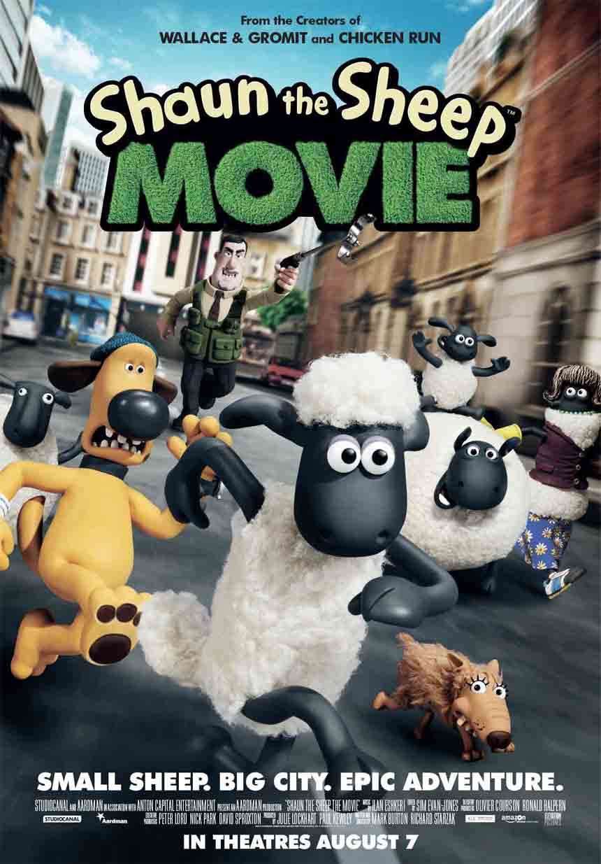 Shaun the Sheep Movie Large Poster