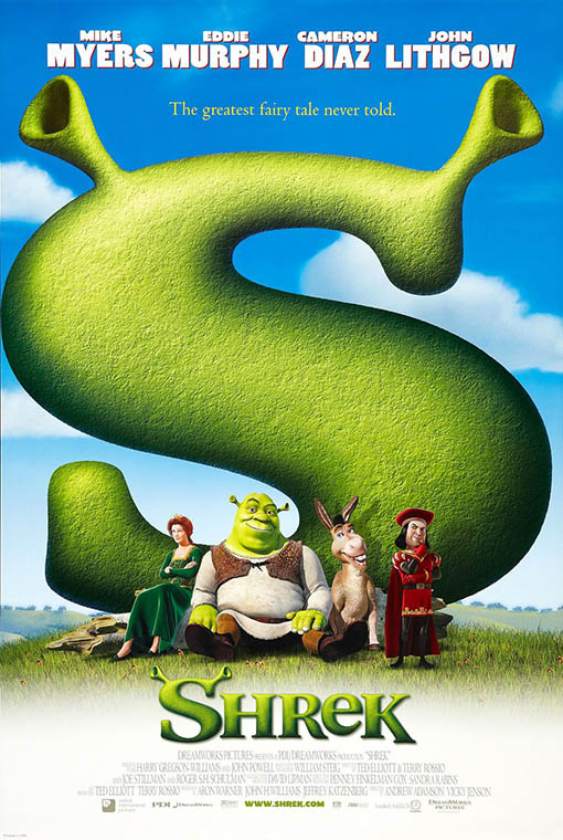 Shrek Large Poster