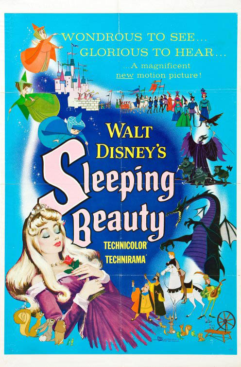 Sleeping Beauty (1959) Large Poster