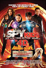 Spy Kids: All the Time in the World Movie Poster