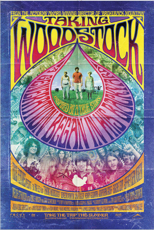 Taking Woodstock Large Poster