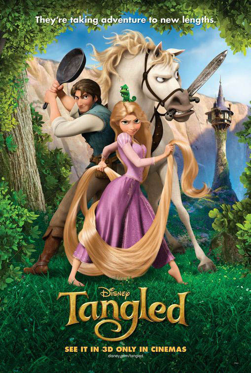 Tangled Large Poster