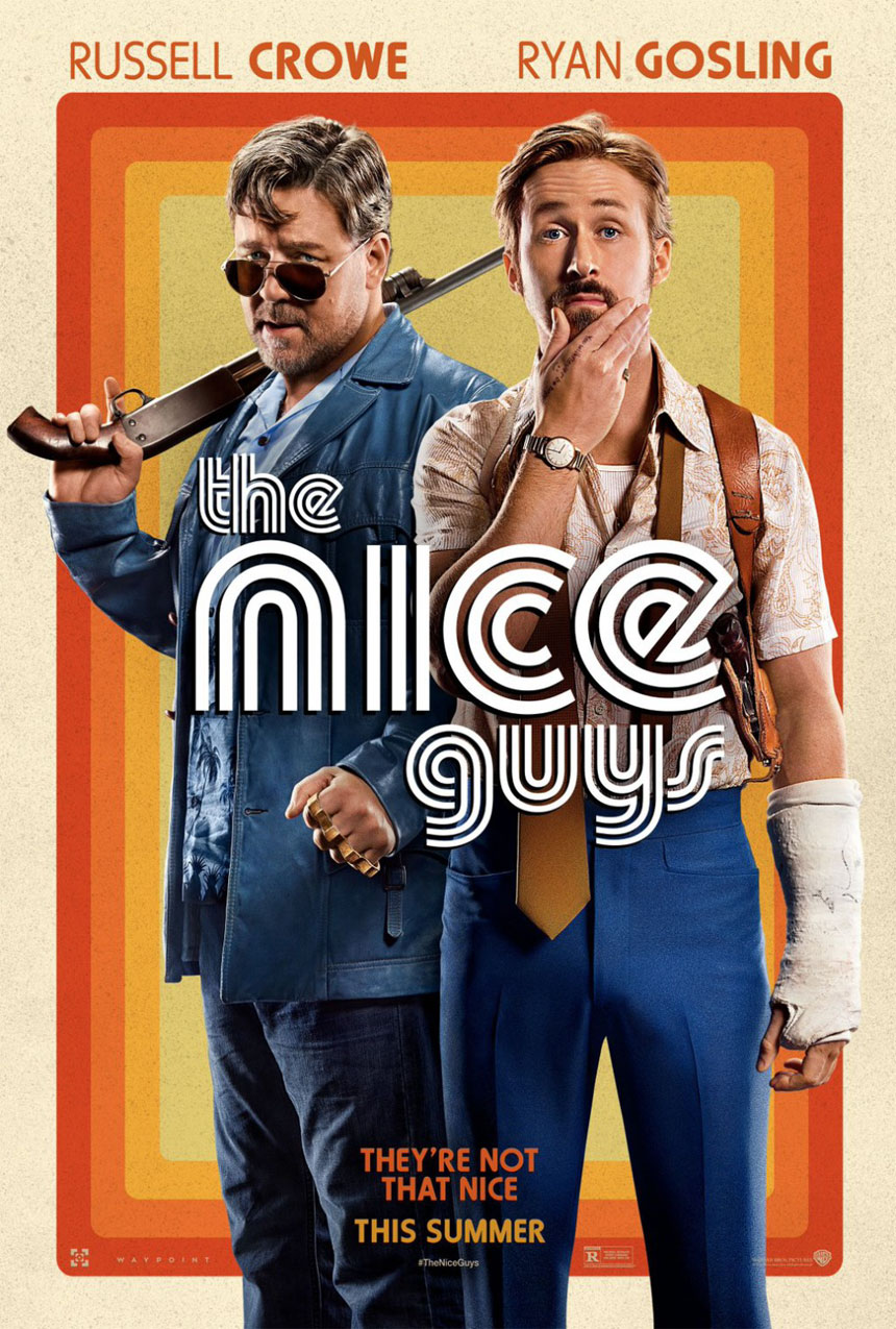 The Nice Guys Large Poster