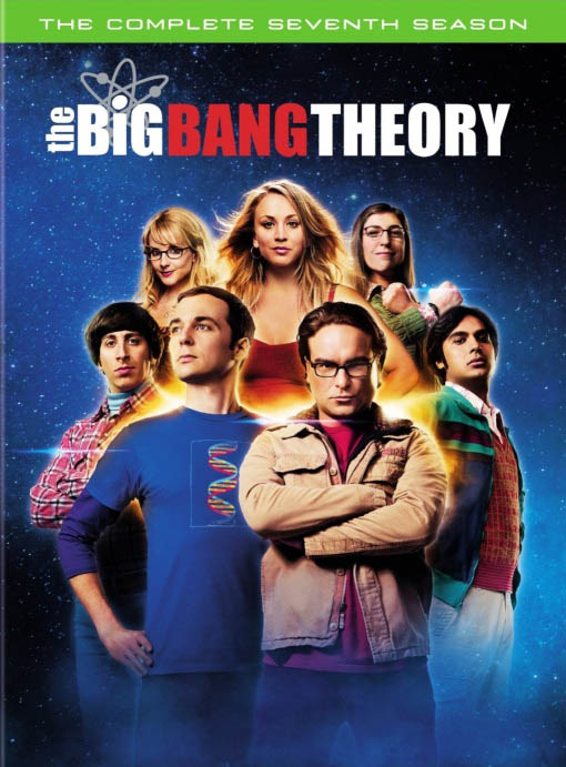 The Big Bang Theory: The Complete Seventh Season Large Poster