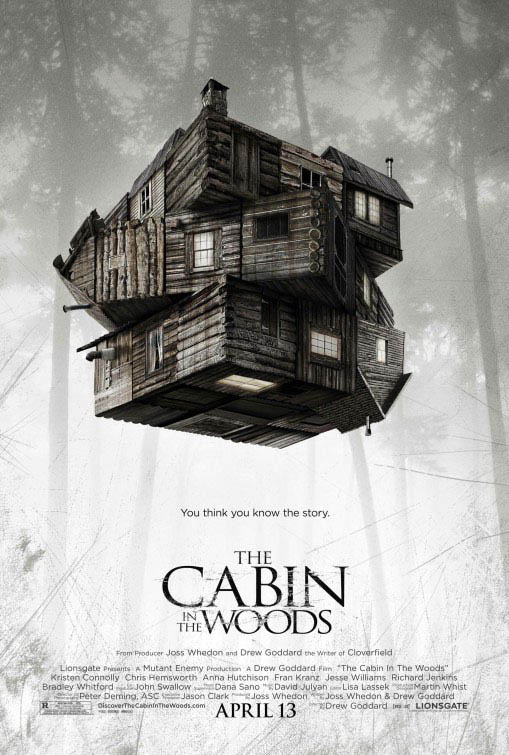 The Cabin in the Woods Large Poster