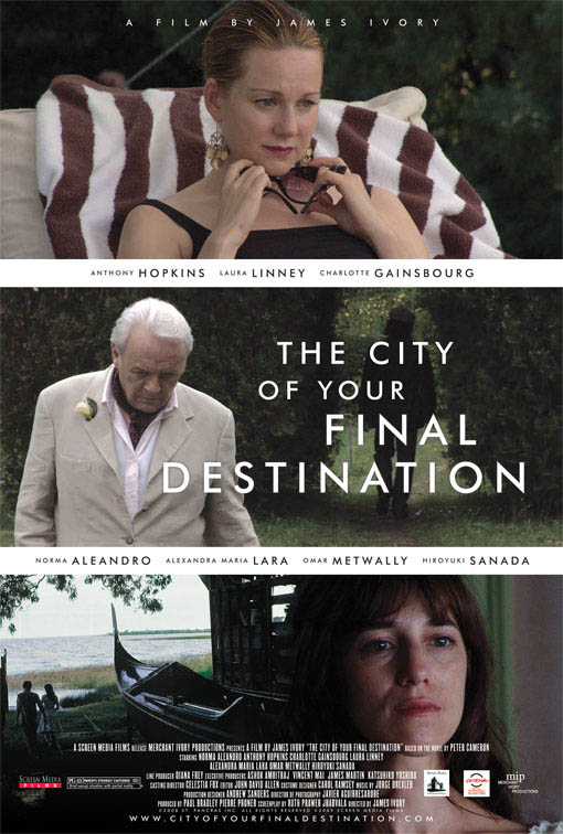 The City of Your Final Destination Large Poster