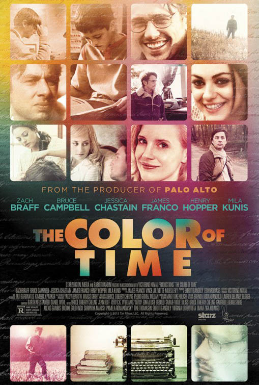 The Color of Time Large Poster