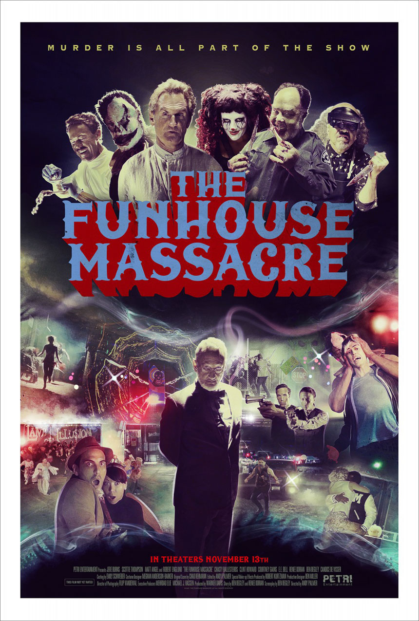 The Funhouse Massacre Large Poster