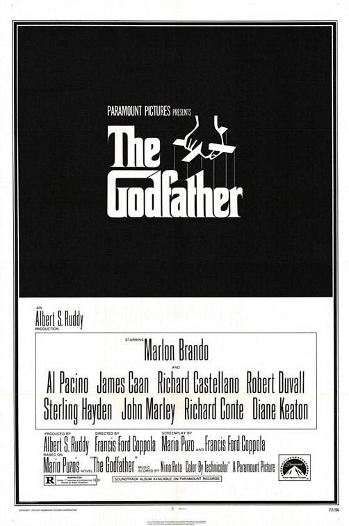 The Godfather - Most Wanted Mondays Large Poster