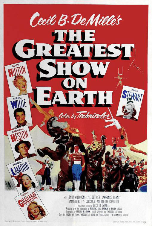 The Greatest Show on Earth Large Poster