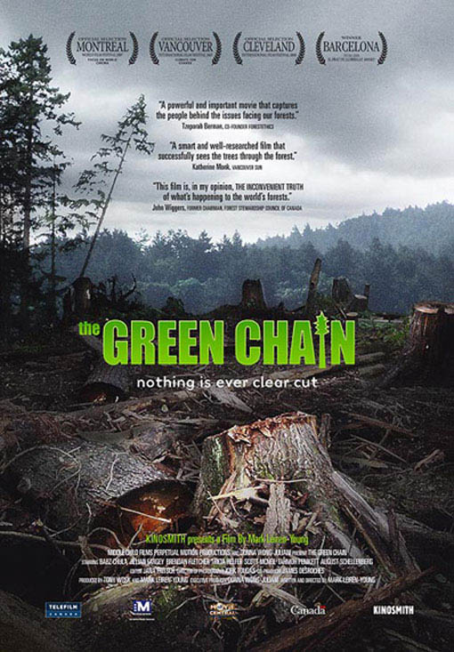 The Green Chain Large Poster