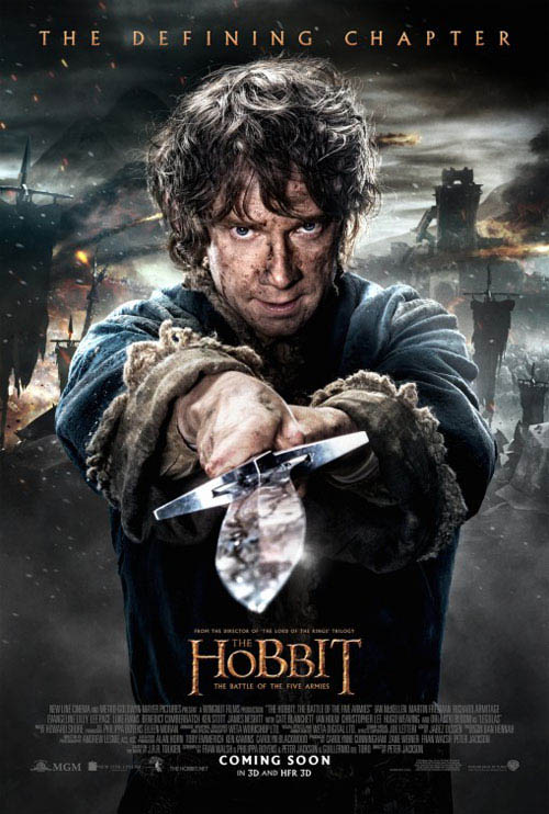 The Hobbit: The Battle of the Five Armies Large Poster
