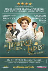 The Importance of Being Earnest - Vaudeville Theatre Movie Poster
