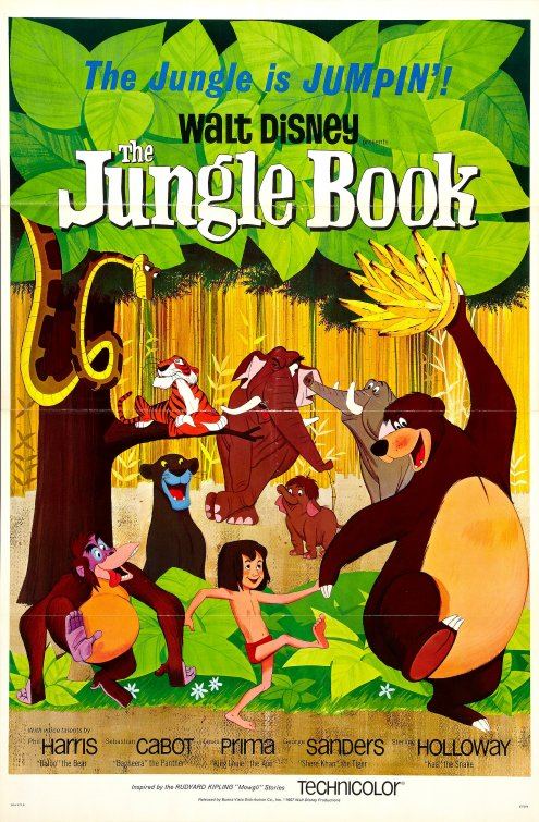The Jungle Book (1967) Large Poster