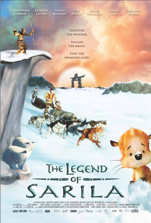 The Legend of Sarila Large Poster