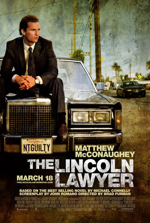 The Lincoln Lawyer Large Poster