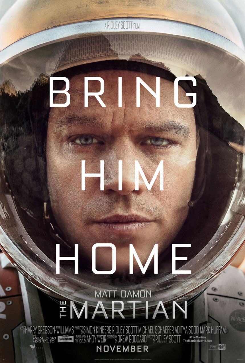 The Martian Large Poster
