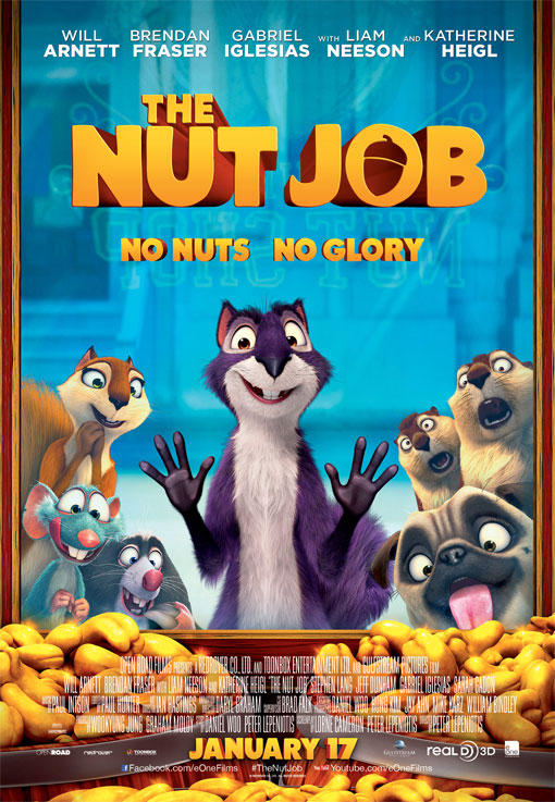 The Nut Job Large Poster