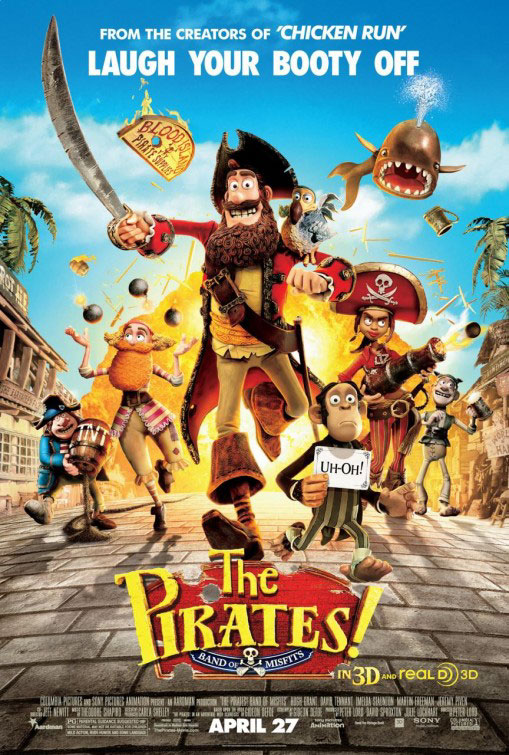 The Pirates! Band of Misfits Large Poster