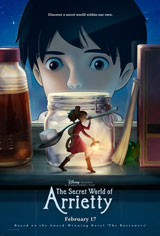 The Secret World of Arrietty Movie Poster