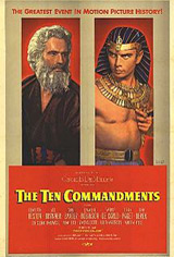 The Ten Commandments - Classic Film Series Movie Poster