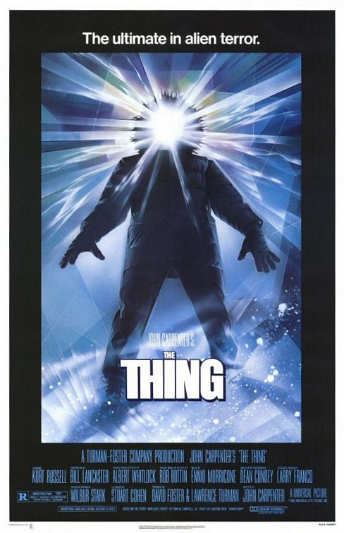 The Thing (1982) Large Poster